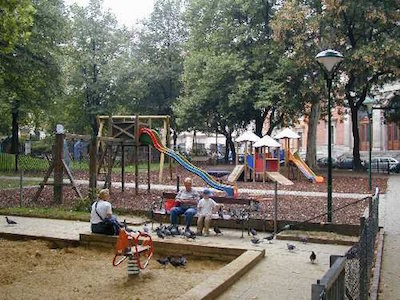 Klettergerüst Für Ziegen Bauen : Die schönsten spielplätze wiens